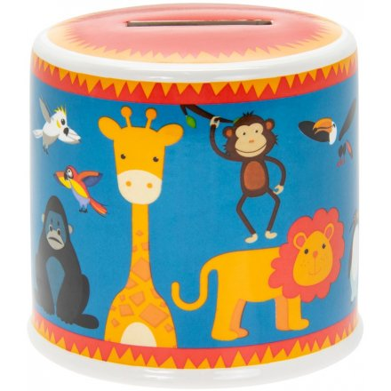9 cm Little Stars Ceramic Zoo Animals Money Box