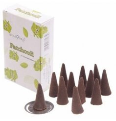 A decorated box filled with sweetly scented incense cones