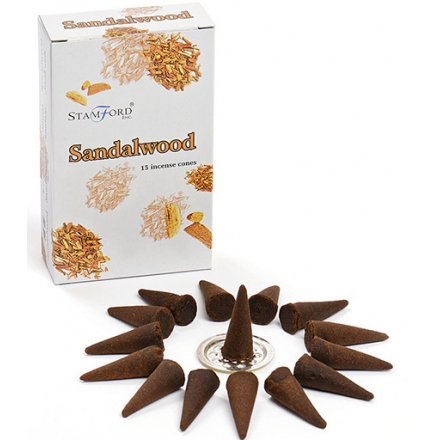 Sandalwood Incense Cones From Stamford