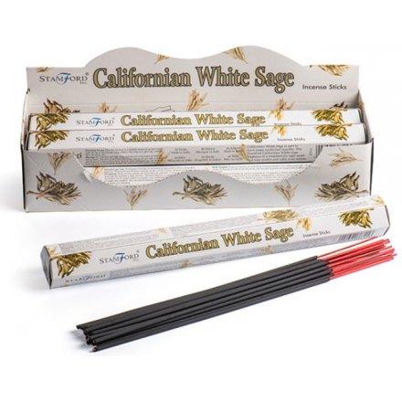 25 cm Californian White Sage Incense Sticks From Stamford