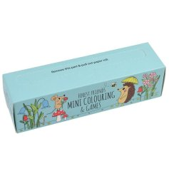 Filled with fun puzzles and friendly colouring pages, this roll of mini games and activities will be sure to keep little