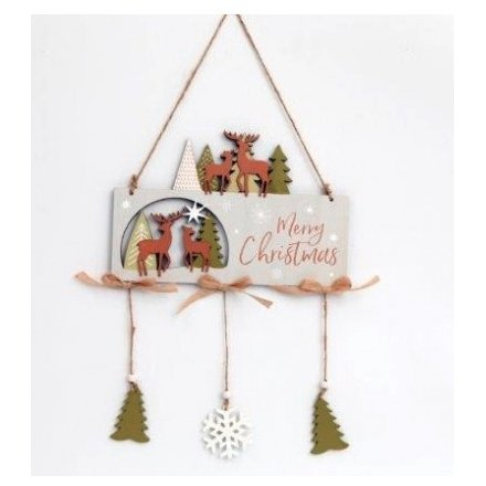 Woodland Christmas Sign