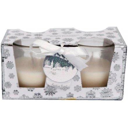 Snowflake Candle Set