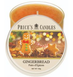 Full of delightfully festive scented aromas, this prices candle tin is a must have in any home