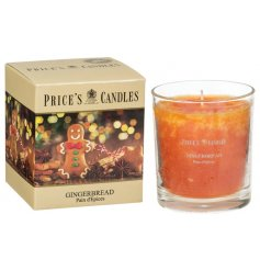 A wonderfully scented candle with a warming gingerbread fragrance. Complete with colour gift box.