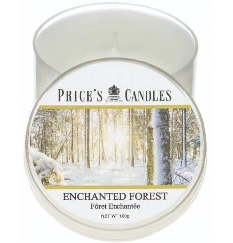 this warming and welcoming Enchanted Forest Scented candle tin is a must have in any home
