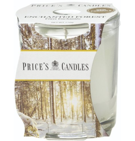 Full of fresh and crips scents, this warming and welcoming Enchanted Forest Scented candle jar is a must have in any hom
