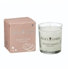A beautifully scented Spiced cookies candle with nutmeg and vanilla notes.
