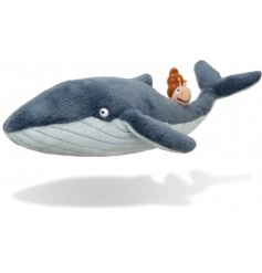 A Snail and A Whale Soft Toy from one of the best sellings childrens book