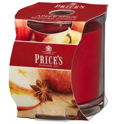 A much loved scented candle with a mouth-watering sweet apple and spiced cinnamon fragrance.