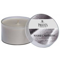 Sure to produce Welcome and Warmth into any home space, this small scented candle tin is full of delightful fragrance
