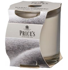A luxuriously scented candle tin bursting with calming fragrances sure to bring a relaxed feel to any home interior