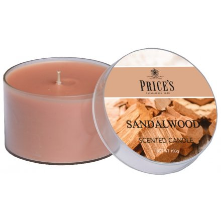 4 cm Prices Candle Sandalwood Tin