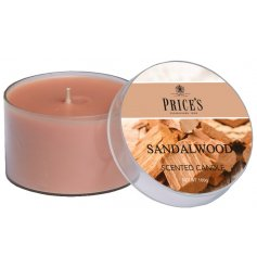 A classic scented candle with a popular oriental aroma with woody tones and rich top notes.