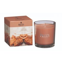 A classic, fine quality Sandalwood scented candle with picture gift box.