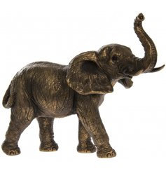 A fine quality bronzed elephant figure from our popular Reflections range.