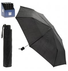 Assorted by their block colours, this mix of foldaway umbrellas are perfect for rainy days