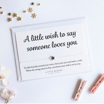 Wish Bracelet, Someone Loves You