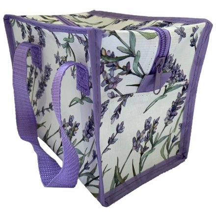21cm Purple Lavender Cooler Bag
