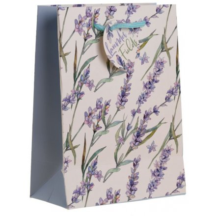 23cm Purple Lavender Gift Bag