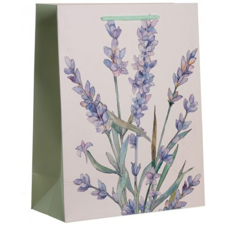 33cm Purple Lavender Gift Bag