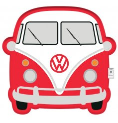 A quirky accessory to add to any home space, this red Volkswagen cushion is super soft and squishy!