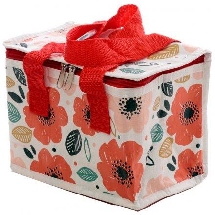 Poppy Fields Lunch Bag, 20cm