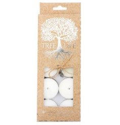 A beautifully packaged set of scented tlights,  sure to bring a cosy aroma to your home