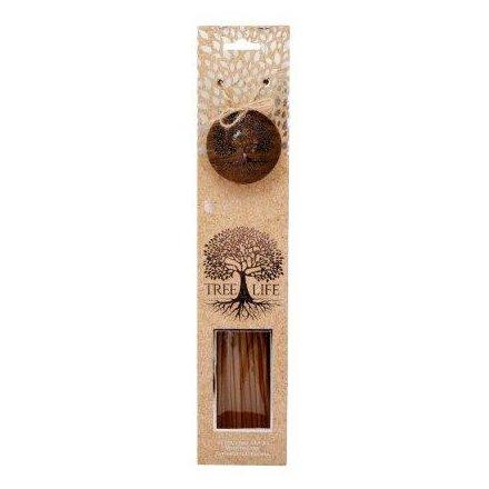 Silver Tree Set of 40 Incense Sticks