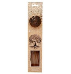 A beautifully packaged set of scented incense burners,  sure to bring a cosy aroma to your home