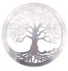A large round metal Tree of Life Wall Decoration,