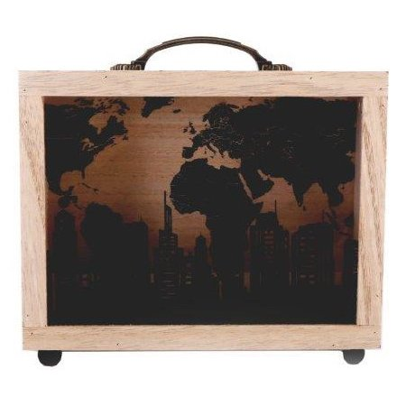 City Skyline Money Box, 22cm