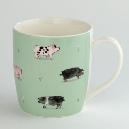 Pigs Mug, Willow Farm