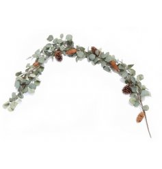 A delightful long garland,  perfect for hanging around your home at Christmas time