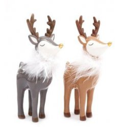 An assortment of charming woodland reindeer, sure to add a magical touch to your home at Christmas Time