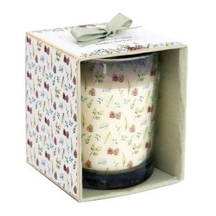 Fig And Wood Sage Open Box Candle Pot, 10cm