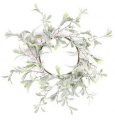A delightful decoration to place around your candles in your home at Christmas Time
