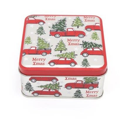 Festive Car Square Storage Box, 10cm