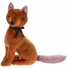 this Velveteen fabric Fox Doorstop is sure to place perfectly in any Woodland themed home