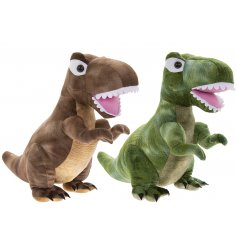 Sure to add a quirky touch to any home, this mix of wide eyed Dinosaur Doorstops!