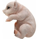 Add a cute touch to any plant pot with this adorable pig decoration
