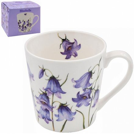 Blue Bells Printed Fine China Mug