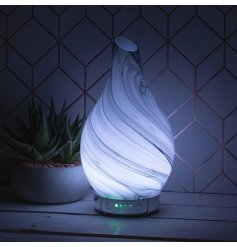 this Humidifier also features a calming colour changing LED fitting inside