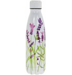 Perfect for keeping you hydrated throughout the day, this pretty patterned bottle is suitable for both hot and cold drin