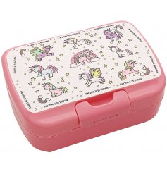 this little lunch box will be sure to entertain your little ones while they eat