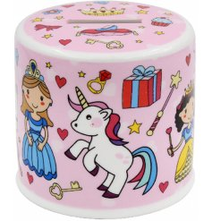 , this little ceramic money box is perfect for little ones saving pennies!