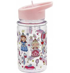this princess covered bottle will be sure to keep your little ones hydrated while out