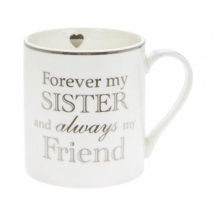 Forever My Sister Fine China Mug