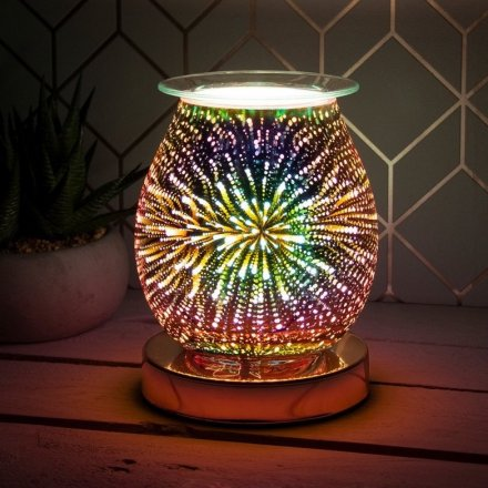 The lamp creates an attractive, 3D starburst effect which can be adjusted using the touch sensitive feature.