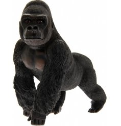 A stunningly realistic Gorilla Ornament from the Leonardo Collection